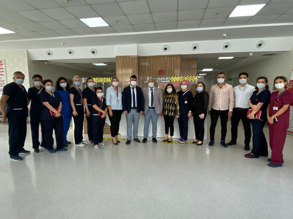 Board meeting with the nurses in the hospital