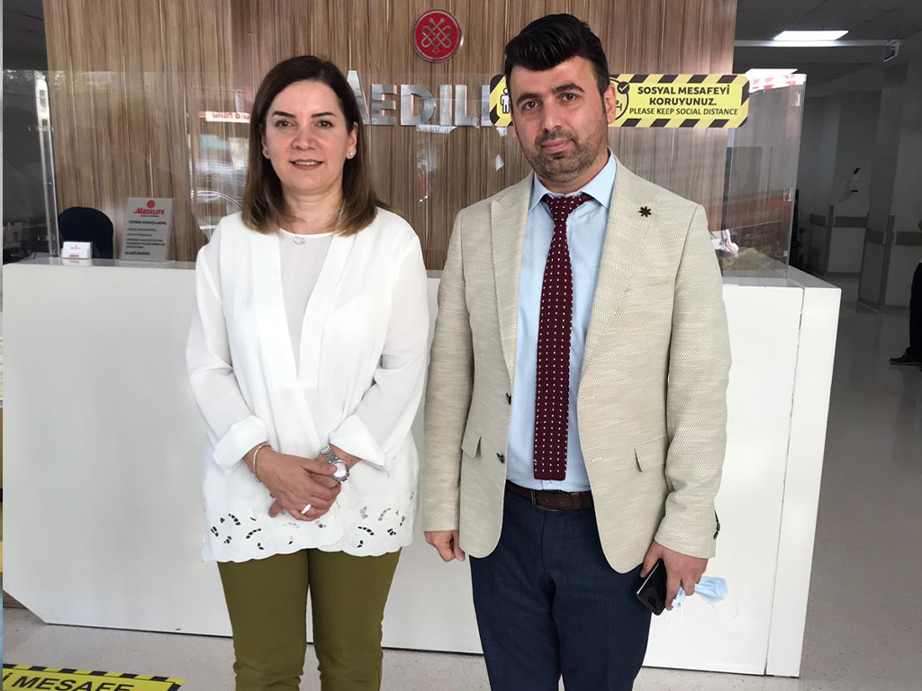Visit of #arzu_erdem member of parliament for the #MHP party in charge of Istanbul